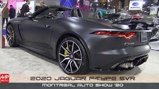 2020 Jaguar F-Type - Exterior And Interior - Montreal Auto Show 2020