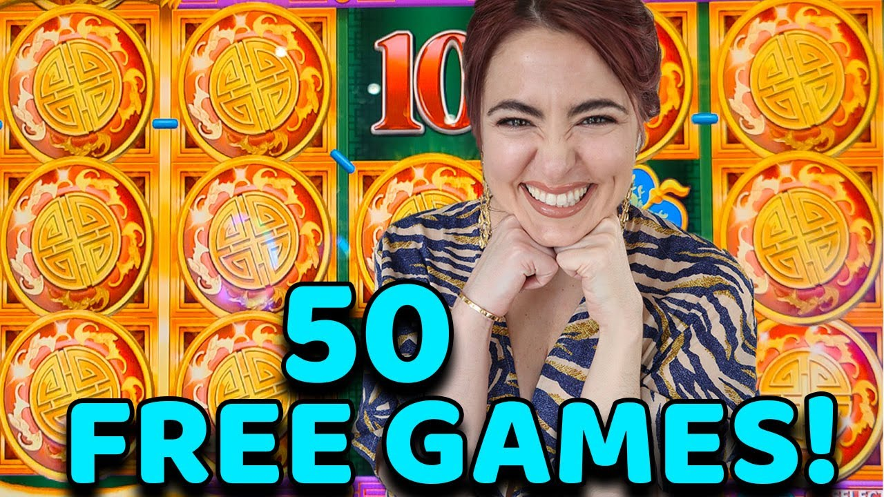 JACKPOT! 50 FREE GAMES on OPULENT PHOENIX Slot Machine in VEAGS!