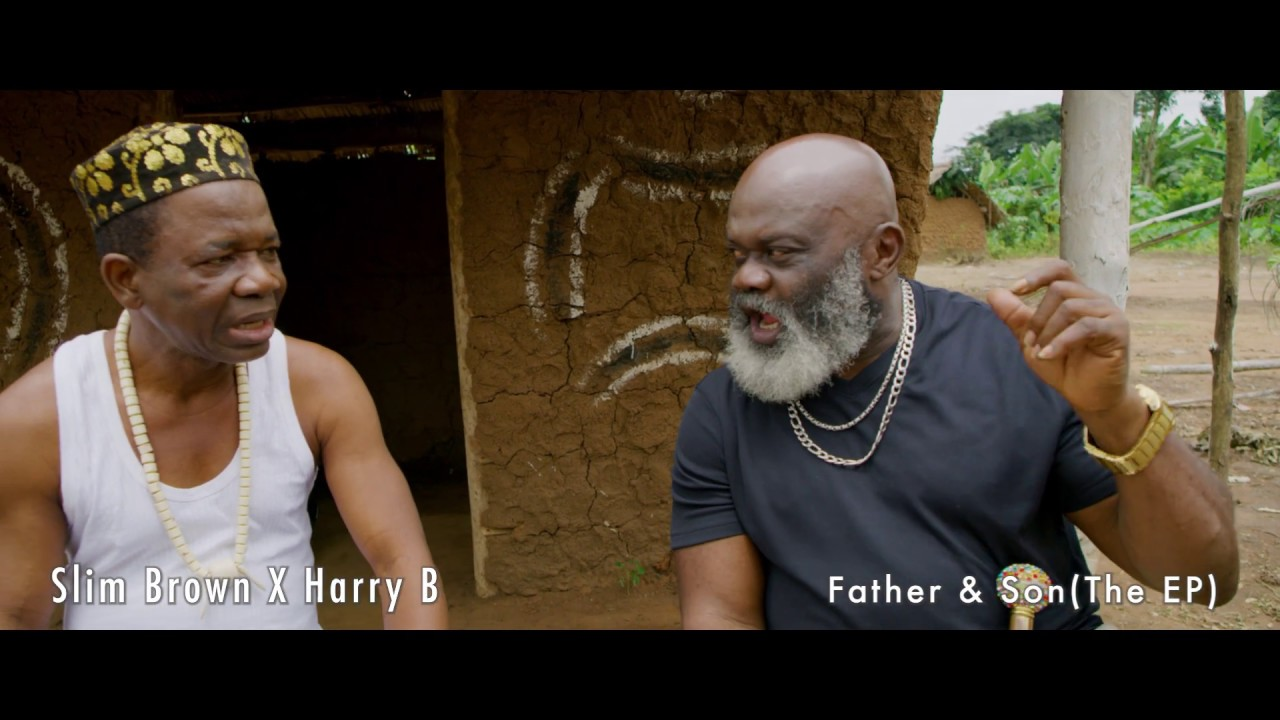 Download Chiwetalu Agu and Harry B rap battle with Slim Brown and friends. ( Short drama )