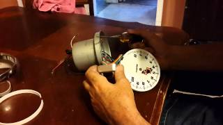 How to take apart an Autometer tach