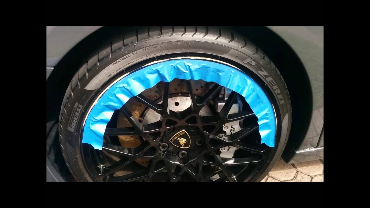 Wheel Repair Repair Black Wheels Takeout Curb Rash On