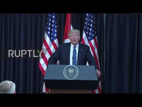 State of Palestine: Trump calls attackers 'evil losers' following Manchester blast