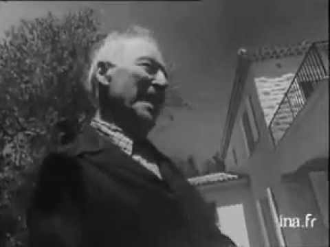 Interview de Marc Chagall à Saint-Paul de Vence en 1967