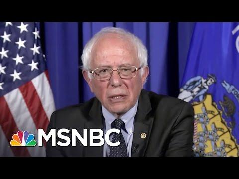 Bernie Sanders Hits Donald Trump On Abortion Remarks | Rachel Maddow | MSNBC