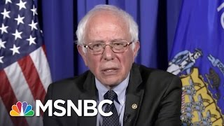 Bernie Sanders Hits Donald Trump On Abortion Remarks | Rachel Maddow | MSNBC thumbnail
