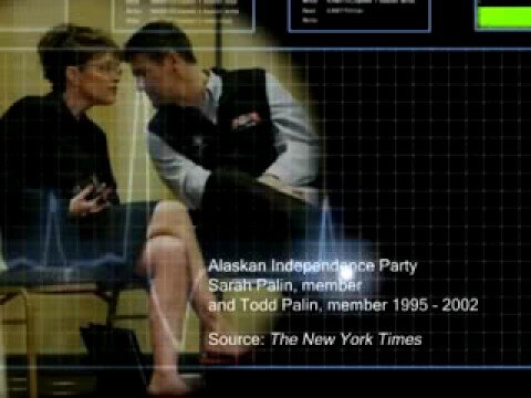 """Todd & Sarah Palin: secessionist Alaska Independence Party (please read """"more info""""!)"""