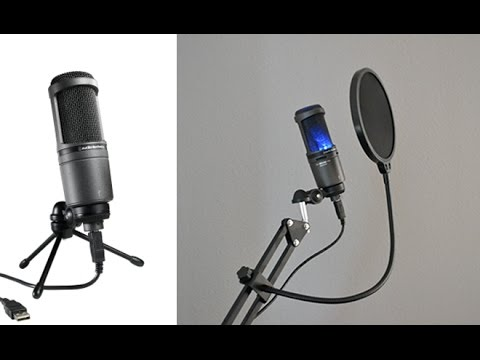 Audio Technica AT2020 USB Microphone Review | Doovi