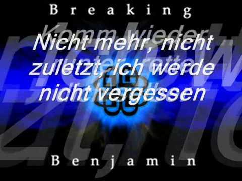 Breaking Benjamin- Without You (Übersetzung)