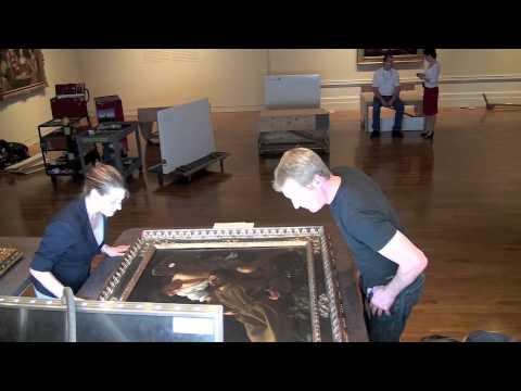 De la voûte au mur. Installation de Caravaggio et les peintres caravagesques à Rome
