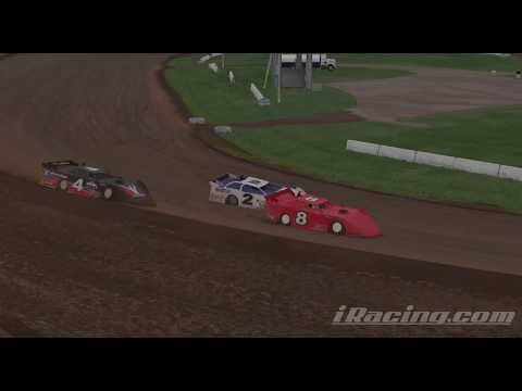 iRacing dirt late model limited @ Lernerville Speedway