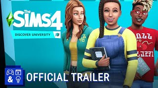 The Sims 4 Discover University - Official Gameplay Trailer