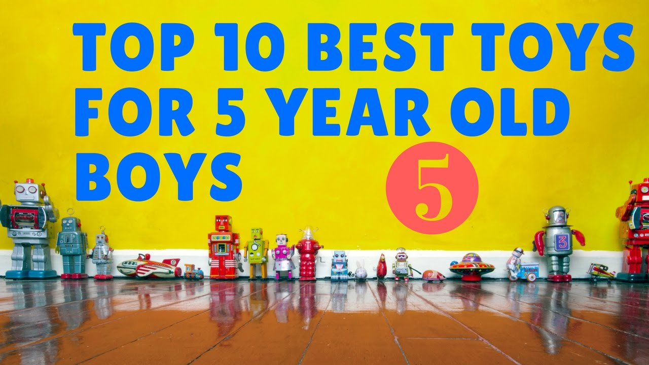 10 Best toys for 5 year old boys ☑️5\u20e3✅ - YouTube