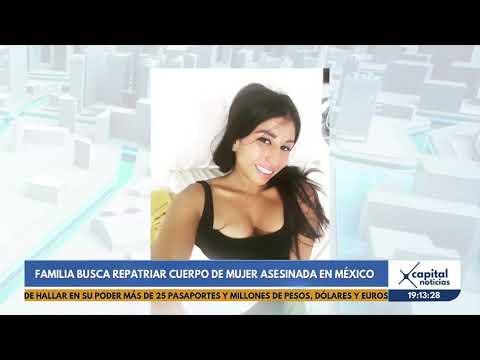 Familia Busca Repatriar Cuerpo De Colombiana Asesinada En México