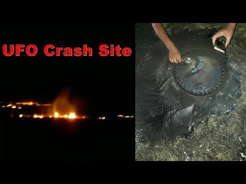 UFO crash landed near a village in Western Kazakhstan