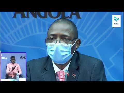 (13.08.2020) Governo actualiza dados sobre Covid-19 em Angola