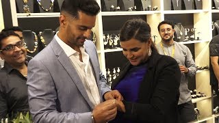Neha Dhupia And Angad Bedi Launch Exclusive Collection Of Shaze