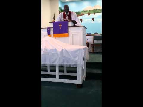 Pastor Gregory  Eugene Sawyer