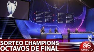 Sorteo octavos Champions League 2018-2019   En directo con Tomás Roncero   Diario AS