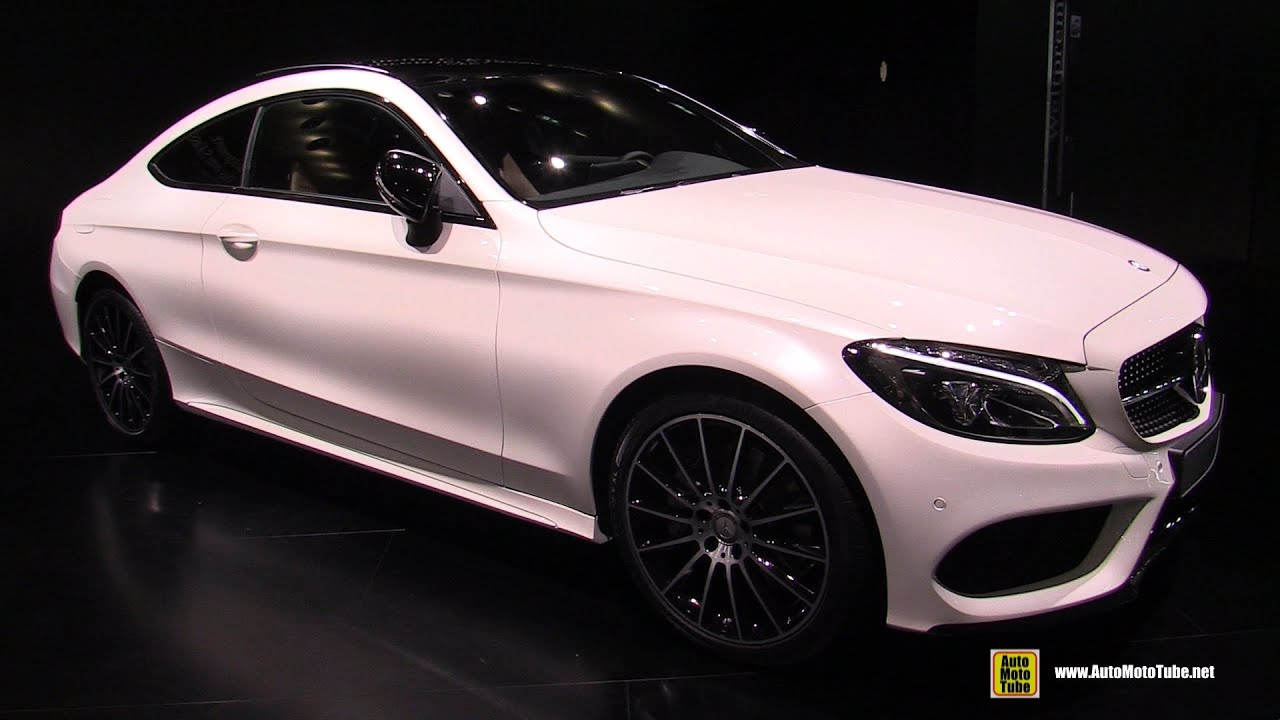 2016 mercedes c class c300 coupe exterior and interior walkaround 2015 frankfurt motor show youtube