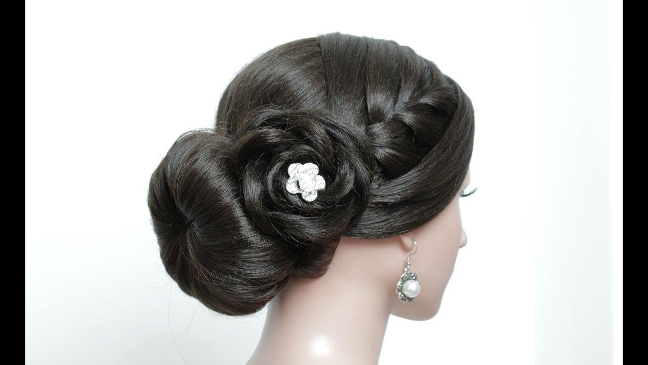 Hairstyles Juda: New Juda Hairstyle For Long Hair Tutorial. Simple Bun With