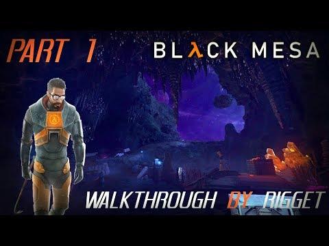 """Black Mesa мир XEN Прохождение Часть 1 """"Телепортация 2"""""""