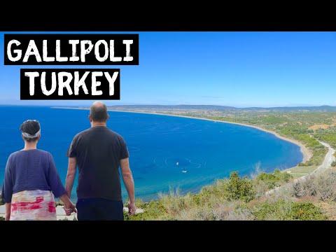 Van Life Turkey - Exploring Gallipoli This was a tough day !!