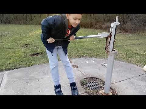 Aris Trying To Pump Water In Forest Preserve.....