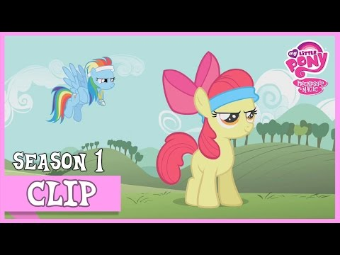Rainbow Dash Helps Applebloom (Call Of The Cutie) | MLP: FiM [HD]