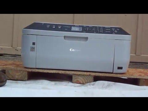 Canon Pixma 330 Paper Jam Error Fix Tutorial