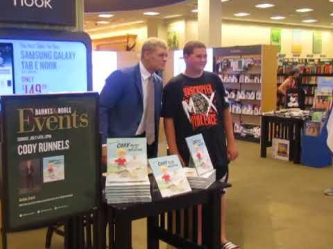 Cody Rhodes Book Signing Footage, Brandi Rhodes On New