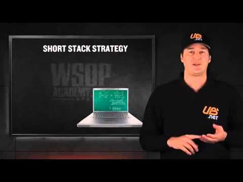 Poker Lessons Short Stacked Tournament Poker