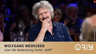 BAP-Tour und die Bedeutung von BAP // Wolfgang Niedecken bei 3nach9