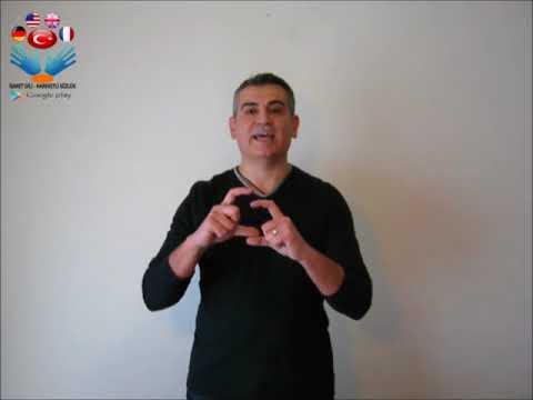 G - işaret dili