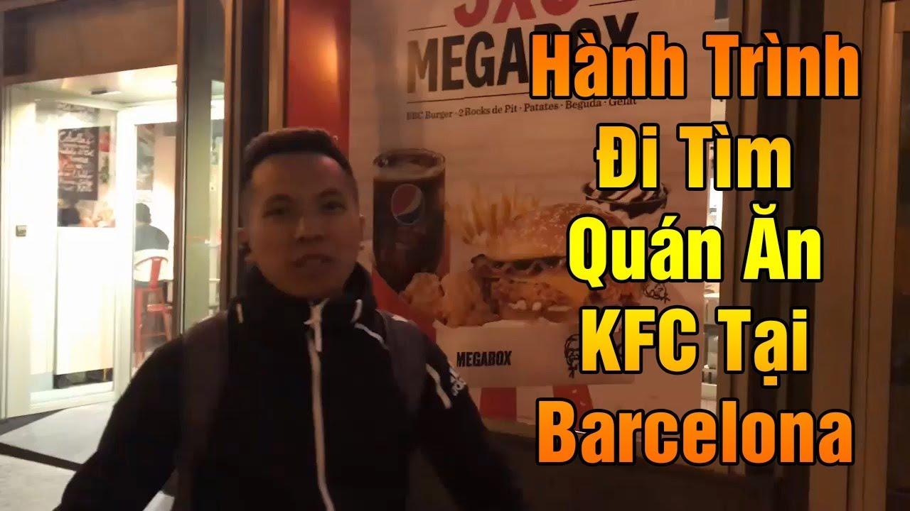 Thử Thách Bóng Đá | Hành Trình Đỗ Kim Phúc Đi Ăn KFC tại Barcelona