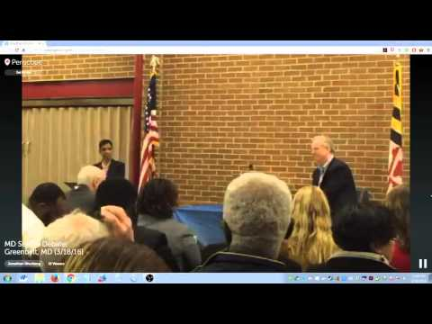 Maryland Senate Debate (Part 1), Greenbelt, MD (3/18/16)