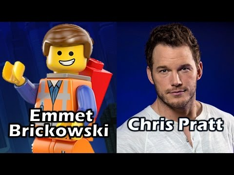 Characters and Voice Actors - The Lego Movie