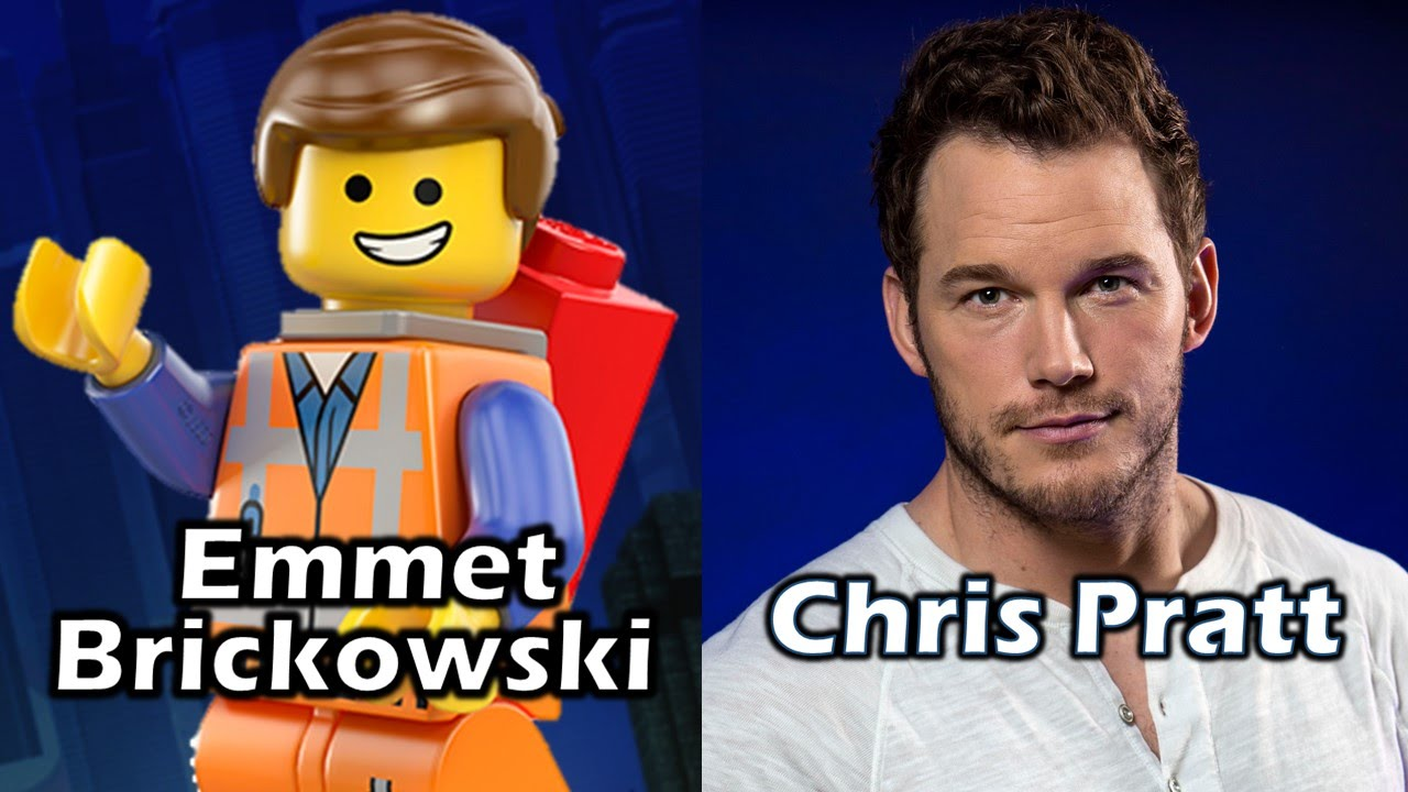 Characters And Voice Actors The Lego Movie Youtube
