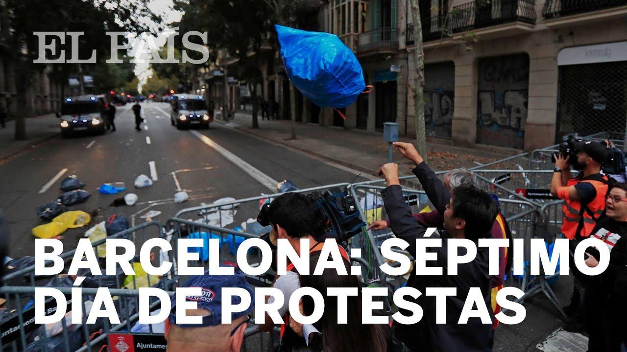 Barcelona Porno En La Calle barcelona riots: spanish pm announces trip to barcelona