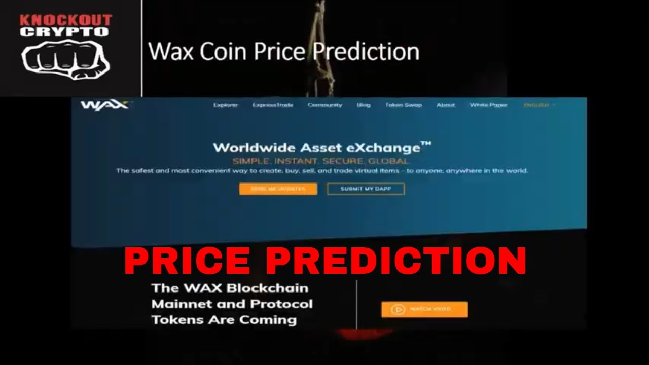 wax cryptocurrency price