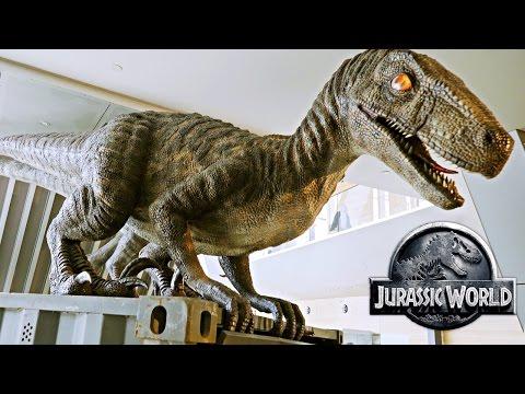 Jurassic World - The Exhibition 2016 Melbourne Museum Australia