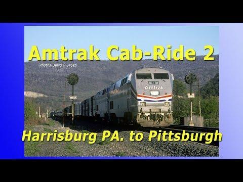 Amtrak Cab-Ride Volume-2 (Harrisburg PA To Pittsburgh)