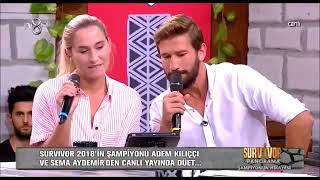 Adem Kılıççı & Sema Aydemir - Aşk Laftan Anlamaz ki (düet)