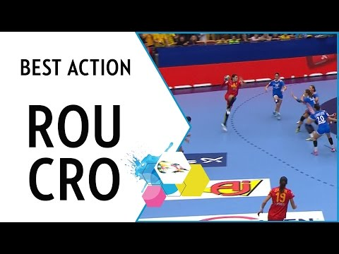 Neagu a class above as Romania progress | Romania vs Croatia | EHF EURO 2016