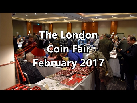 The London Coin Fair - A mini Numistacking Adventure!