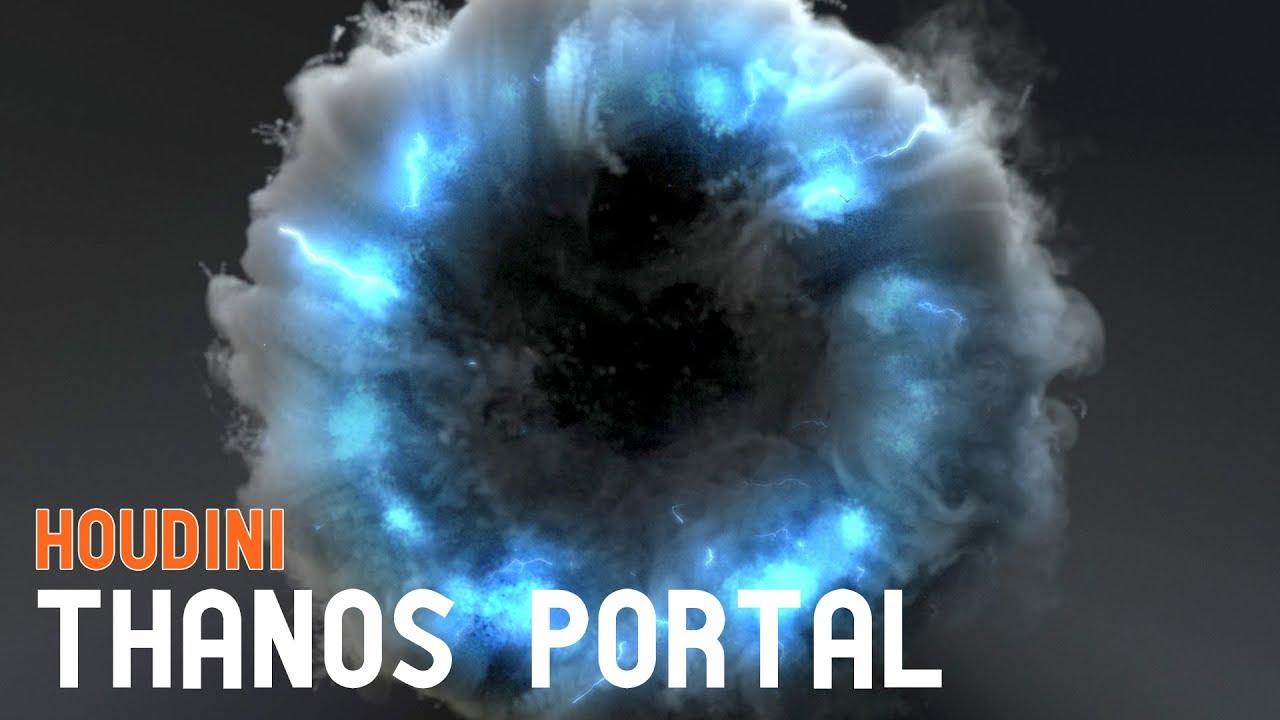 Houdini Tutorial - Thanos Portal Effect
