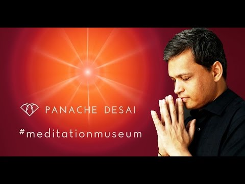 Panache Desai at the Meditation Museum!