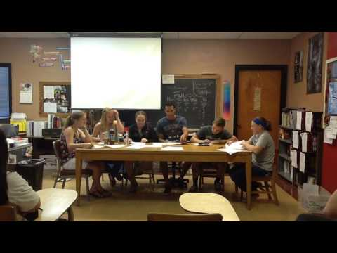 Panel Discussion (2016-2017): Attending an International School - 6th Hour