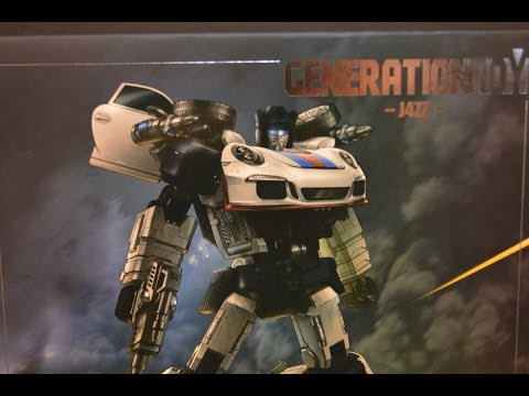 T2RX6 Reviews: Generation Toy GT-04 J4ZZ (Jazz)