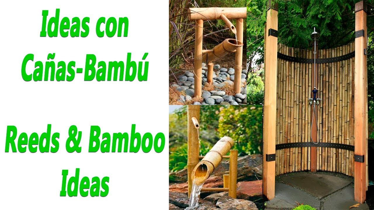 Ideas Con Ca 241 As Bamb 250 Para Decorar Youtube