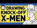 Drawing Knock-Off X-Men